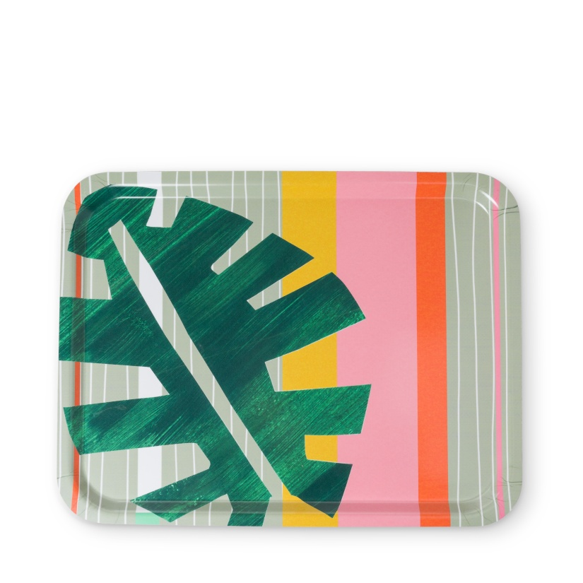 oli bonasLeaf Stripe Tray £28 DUE APRIL