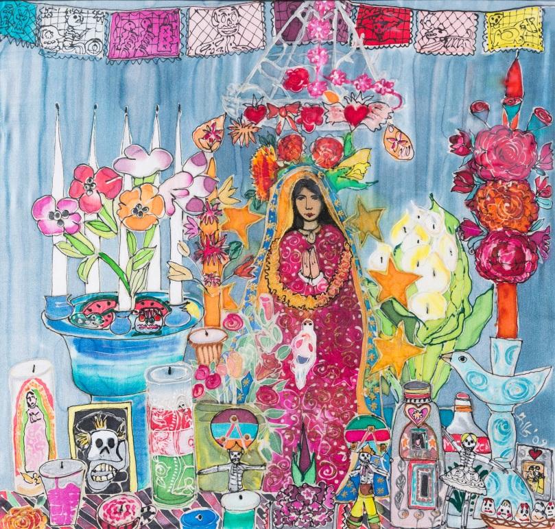 My Mexican Shrine close up copy